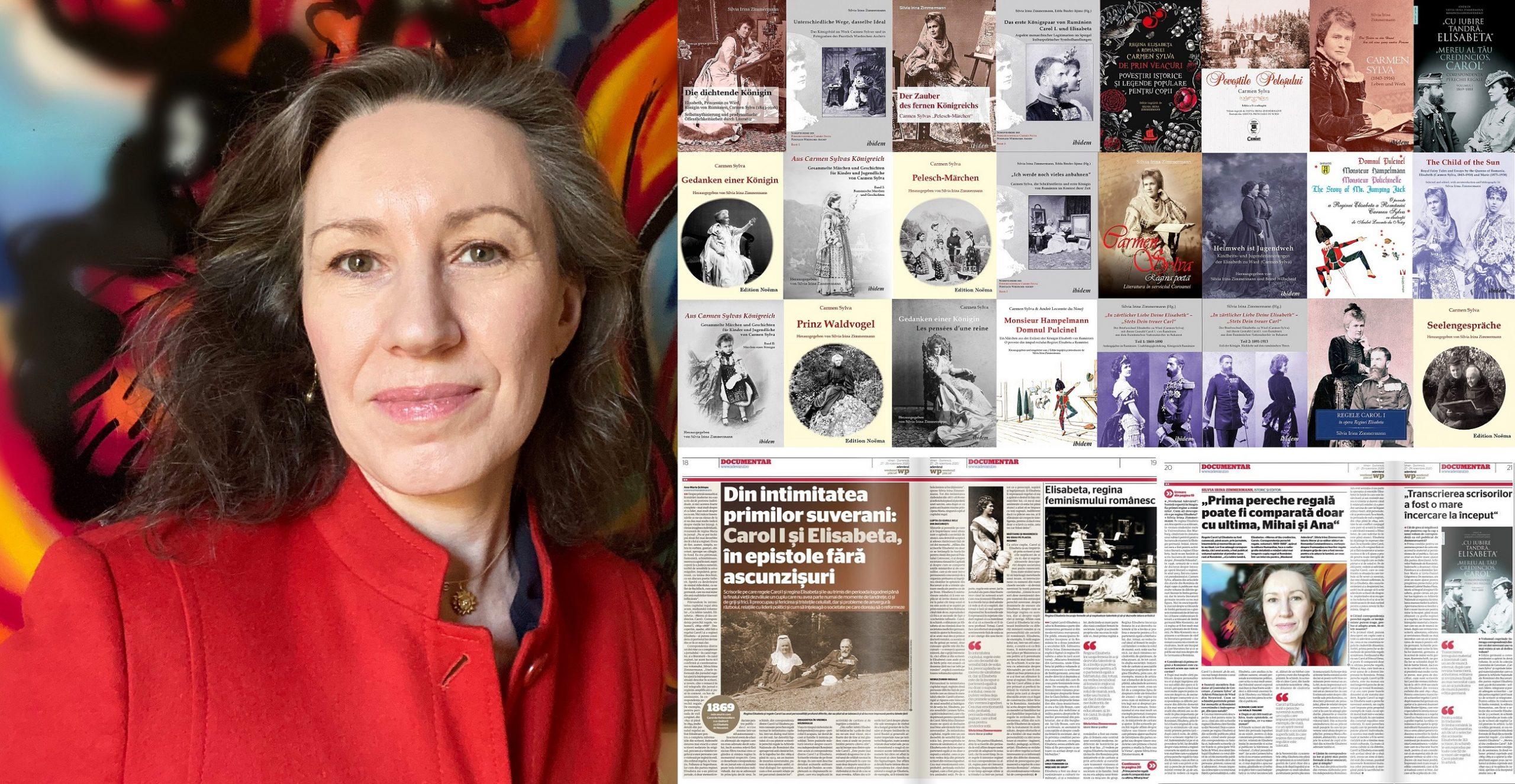 Silvia Irina Zimmermann: Din intimitatea primei perechi regale, Carol I şi Elisabeta