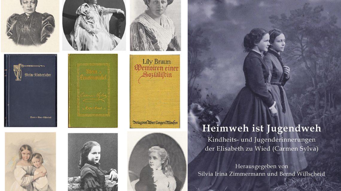 Silvia Irina Zimmermann: Kindheit und Erziehung im Schloss